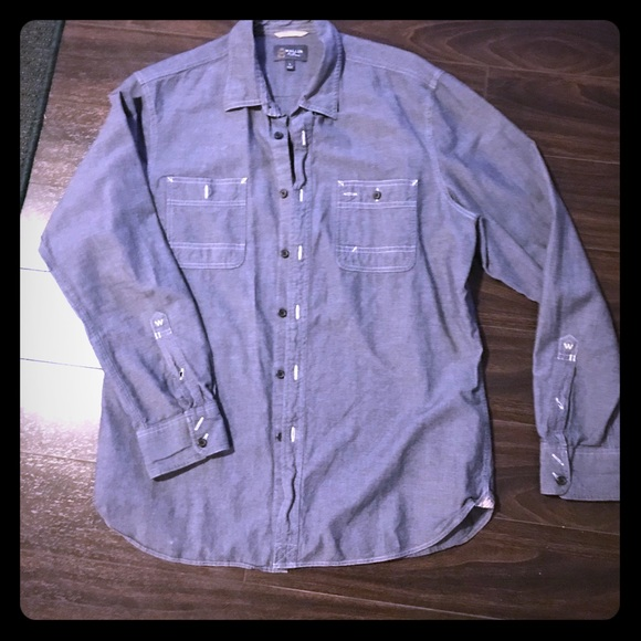 215db08d4 Wallin & Bros Shirts | Mens Wallin Classic Blue Button Down | Poshmark